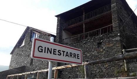 Imatge d'arxiu de la Casa Bringué de Ginestarre.