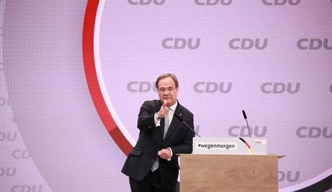 El successor d'Angela Merkel a la CDU, Armin Laschet.