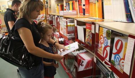 Imatge d'arxiu de la llibreria Abacus a Lleida.