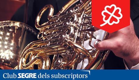 Músics d'instruments de vent de l'Orquestra Simfònica Julià Carbonell de les Terres de Lleida ens oferiran un repertori basat en peces escrites per a aquest tipus d'instruments.