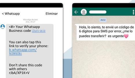 Alerten d'una estafa per robar comptes de Whatsapp