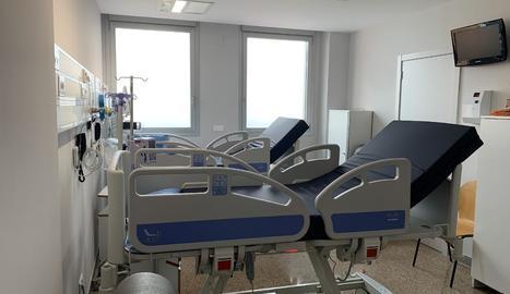 Les noves habitacions disposen d'última tecnologia i equipament com els d'una UCI.