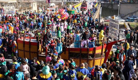 Imatge d'arxiu del multitudinari Carnaval de Solsona.