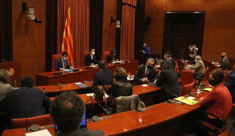La taula de partits i Govern va acordar el divendres de la setmana passada traslladar les eleccions al 30-M.