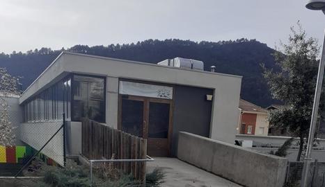 Les instal·lacions de la ludoteca, tancades en l'actualitat.