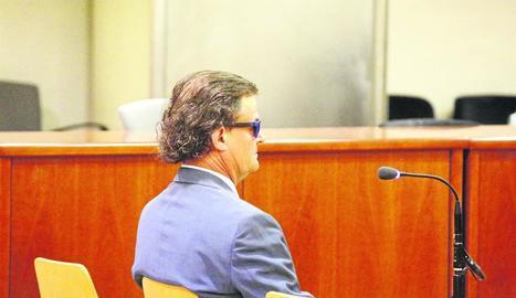 L'exadvocat, en un dels judicis.