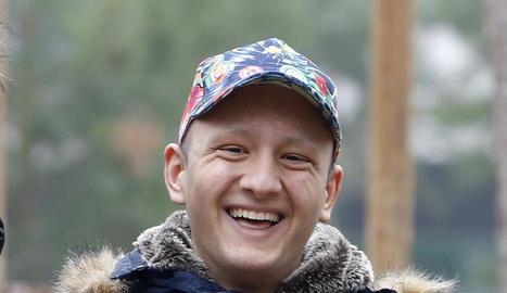 Cosmin Ionusco, de 19 anys, en un reportatge per a SEGRE.