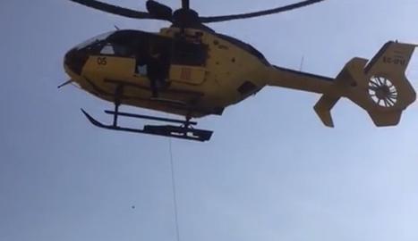 Imatge d'arxiu d'un helicòpter de rescat.