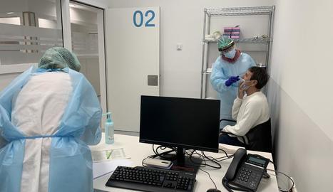 Entra en funcionament l'edifici annex a l'Arnau per acollir PCR