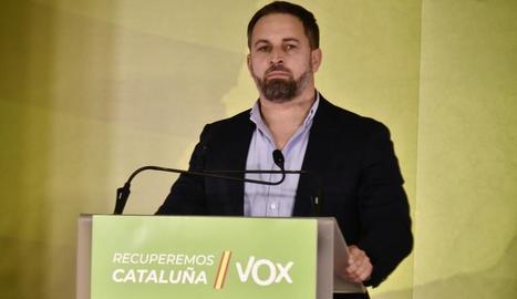 """Abascal amenaça Jair Domínguez per les seves consideracions sobre """"com combatre el feixisme"""""""