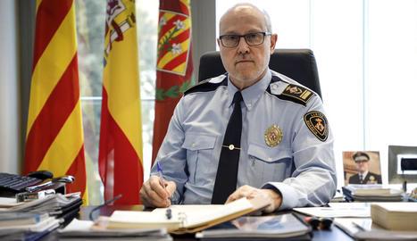 """Josep Ramon Ibarz: """"Hem treballat molt dur perquè la Urbana fos un cos policial respectat"""""""