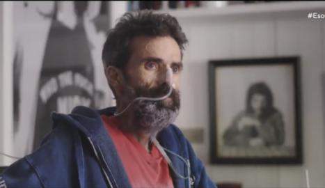 Frame estret del documental Eso que tu me das: la última charla con Pau Donés