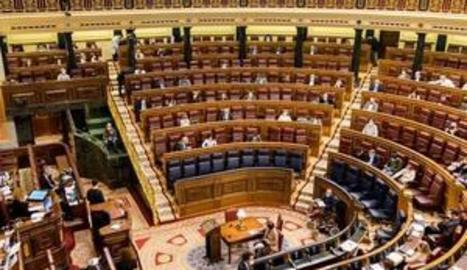 Vista de l'hemicicle del Congrés