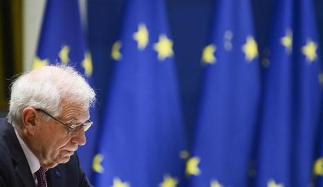 L'Alt Responsable de la UE per a Política Exterior, el lleidatà Josep Borrell.