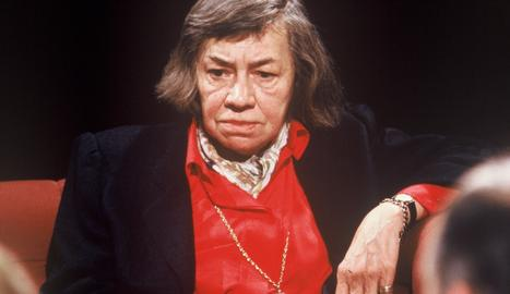 Patricia Higsmith en l'època de la seua estada a Lleida