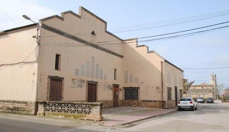 L'edifici del casal del Poal.
