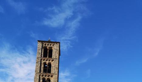 Visites a Sant Climent de Taüll.