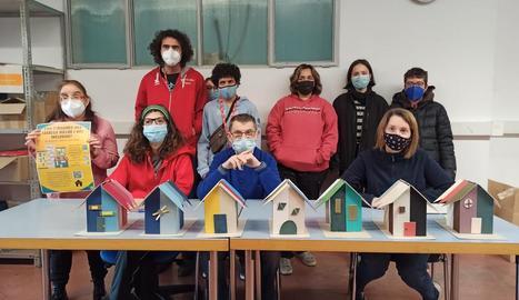 Foto de grup dels joves participants en la iniciativa.
