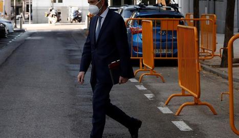 El president del Consell General del Poder Judicial, Carlos Lesmes.