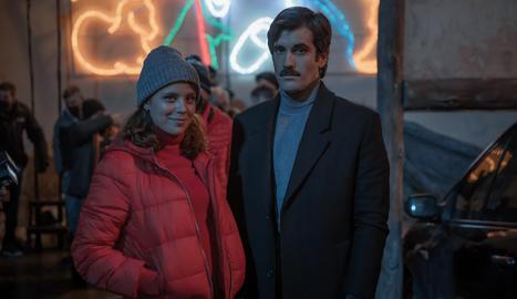 Els actors Andrea Ros i Tamar Novas