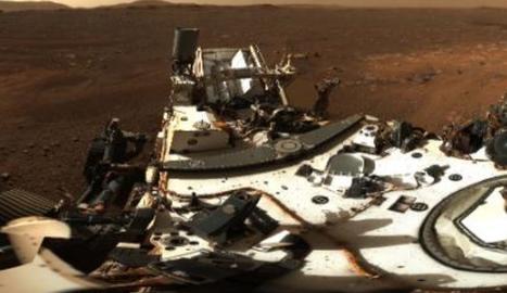 El rover Perseverance estrena cámara zoom HD con un panorama de 142 fotos de Marte