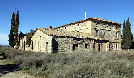 Estat actual de la casa on estiuejava el president Francesc Macià.