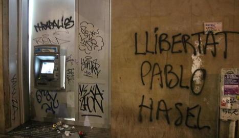 Manifestació per la llibertat de Hasél, l'amnistia i drets socials