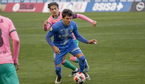 El Lleida cau en el Camp d'Esports davant del Barça B (0-1)