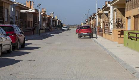 Imatge actual del carrer Urgell.