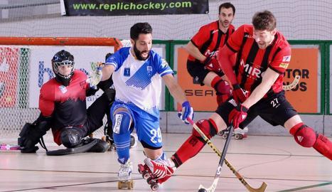 Sergi Duch va jugar bons minuts i va gaudir de dos clares ocasions.
