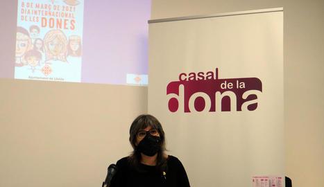 Lleida commemorarà el Dia Internacional de les Dones amb una cinquantena d'actes