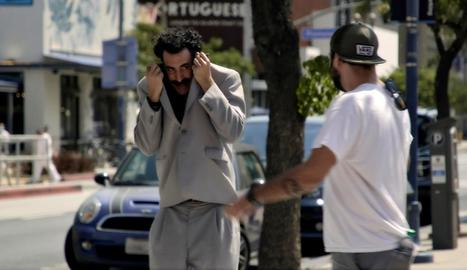 Sacha Baron Cohen es va emportar dos Globus d'Or per 'Borat'.