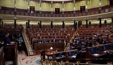 El Congrés dels Diputats va aprovar el decret gràcies a l'abstenció de Vox.