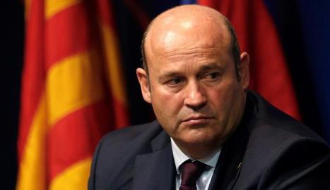 Josep Maria Bartomeu va ser detingut ahir pels Mossos al seu domicili particular.