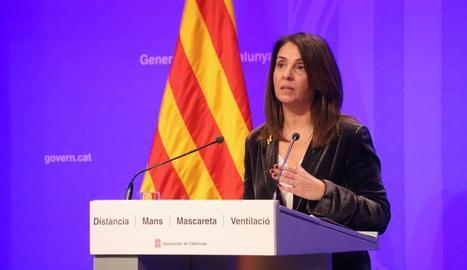 Catalunya estudia establir un calendari de relaxament de les restriccions fins a Setmana Santa