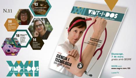 Aquest diumenge, especial ciència, tecnologia i dones, a 'Vint-i-dos'