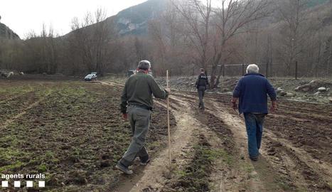 Els Agents Rurals han aixecat acta de l'incident.