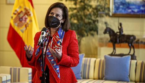 Margarita Robles va demanar que s'obrís una investigació.