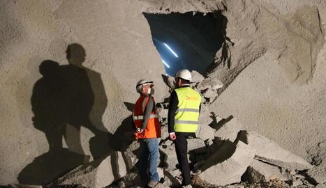 La finalització del túnel de Lilla se'n va al 2023