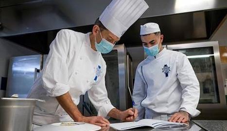 Un jove aranès aspira a guanyar un important premi de cuina estatal