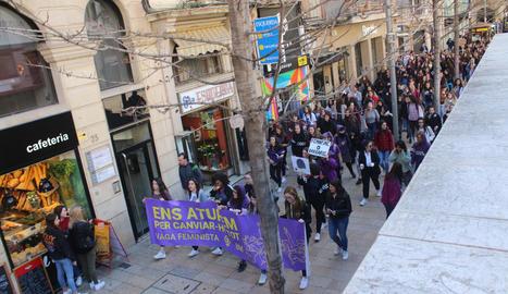 Imatge d'arxiu de les maifestacions del 8M