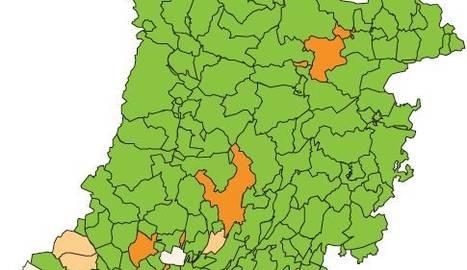 Velocitat de propagació (Rt) als municipis de Lleida