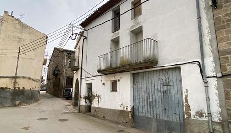 La casa de Cal Quelo s'enderrocarà per edificar-hi un consultori.
