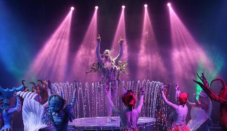 Un dels números previstos a l'espectacle 'Circo Sobre Agua 2'.