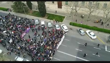 """Amnistia Internacional denuncia que la prohibició de manifestacions el 8-M a Madrid """"viola el dret de reunió pacífica"""""""