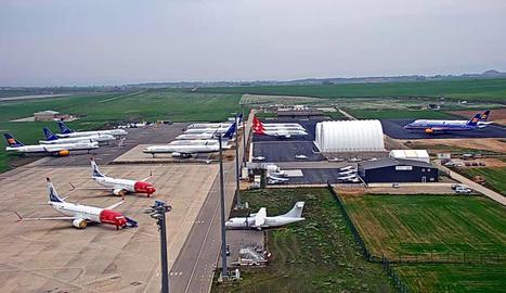 L'aeroport d'Alguaire acollirà proves de propulsió per a coets