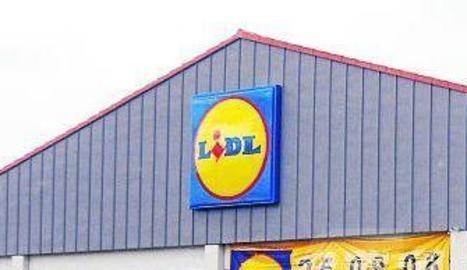 Imatge d'arxiu d'un supermercat Lidl