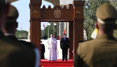 """El papa a l'Iraq: """"La violència i l'odi són incompatibles amb la religió"""""""