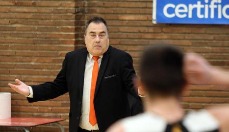Gustavo Aranzana, a l'últim partit del Força Lleida.