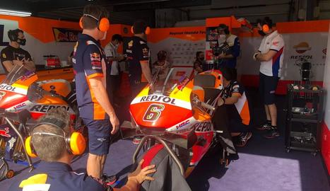 Márquez convida un estudiant de mecànica a un Gran Premi